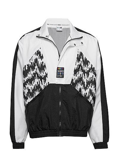 Tfs Og Track Jacket Aop Sweat-shirt Pullover Schwarz PUMA