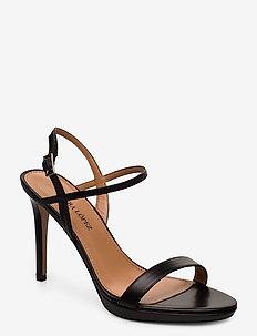 Quindar - korolliset sandaalit - calf black