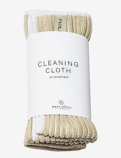 Cleaning Cloth 2-pack - renseprodukter - beige