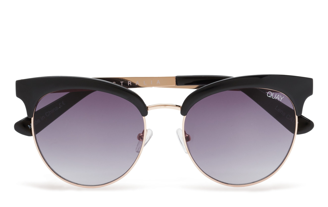 QUAY AUSTRALIA CHERRY - BLACK / SMOKE LENS