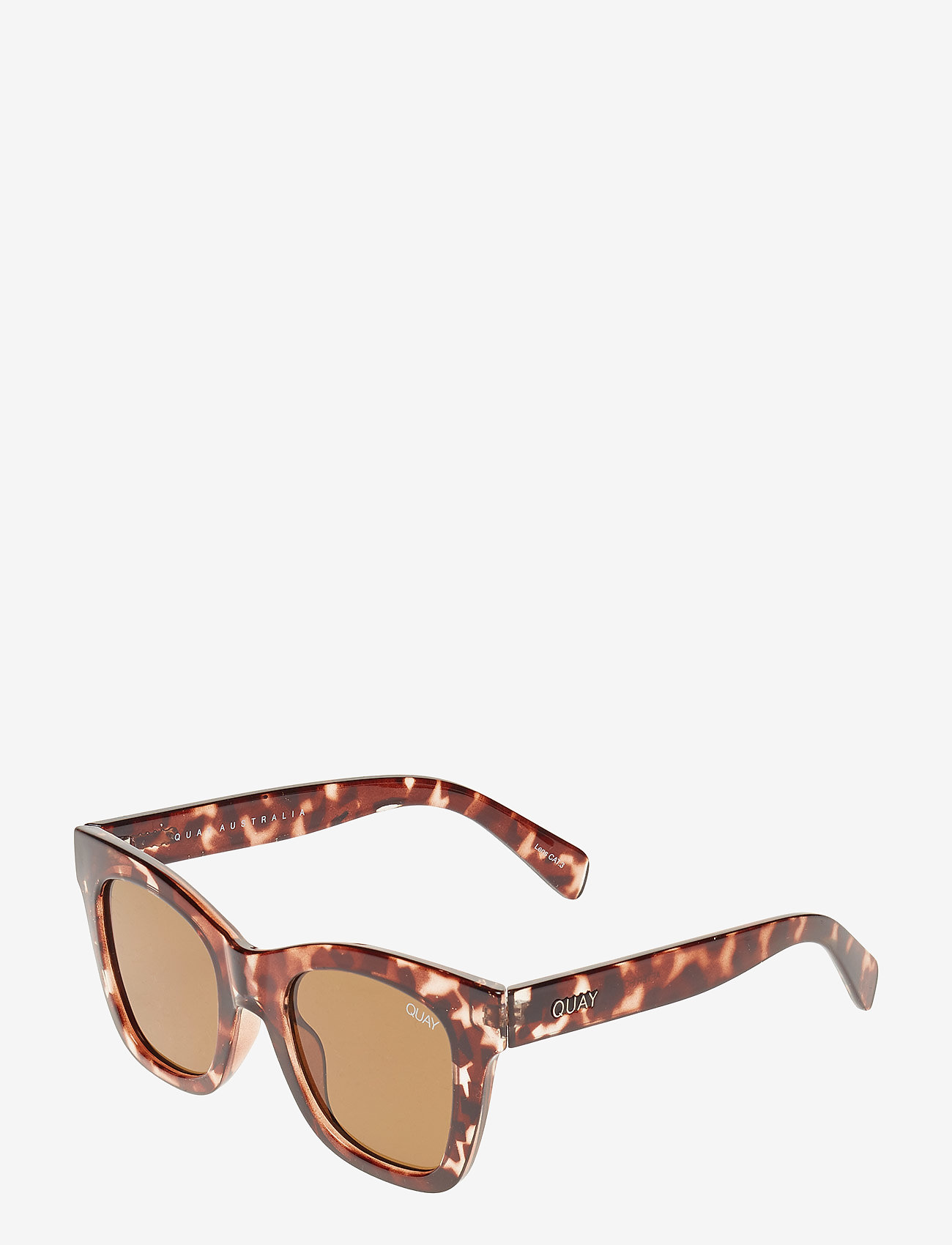 QUAY AUSTRALIA - AFTER HOURS - d-shaped - tort / brown lens - 1