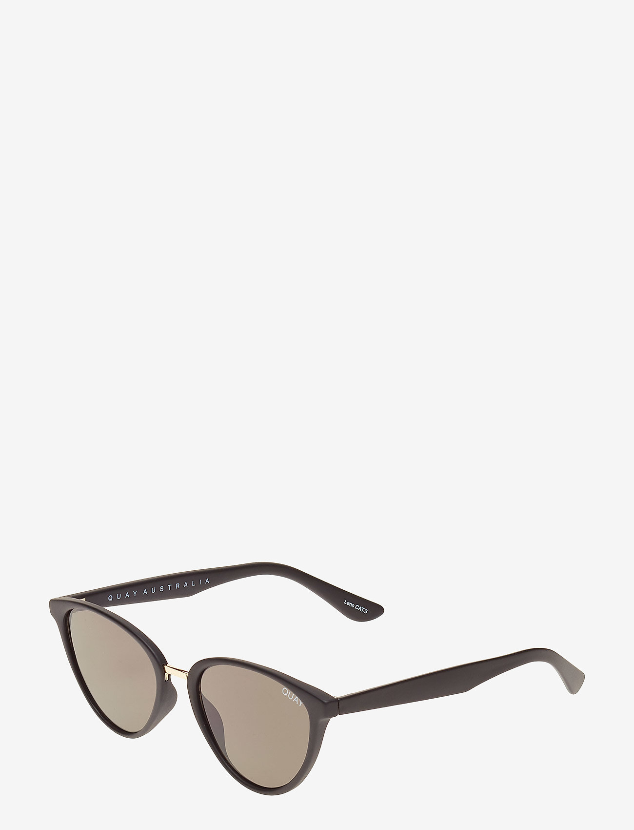 QUAY AUSTRALIA - RUMOURS - cat-eye - black / smoke lens - 1