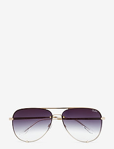 HIGH KEY RIMLESS - GOLD / BLACK FADE LENS