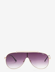 EL DINERO - gold / purple fade lens
