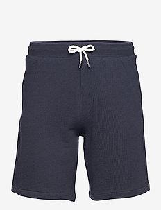 ESSENTIALS SHORT TERRY - casual shorts - navy blazer