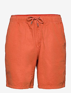 BRAIN WASHED - casual shorts - redwood