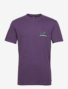 REFLECT SS TEE - sports tops - purple plumeria