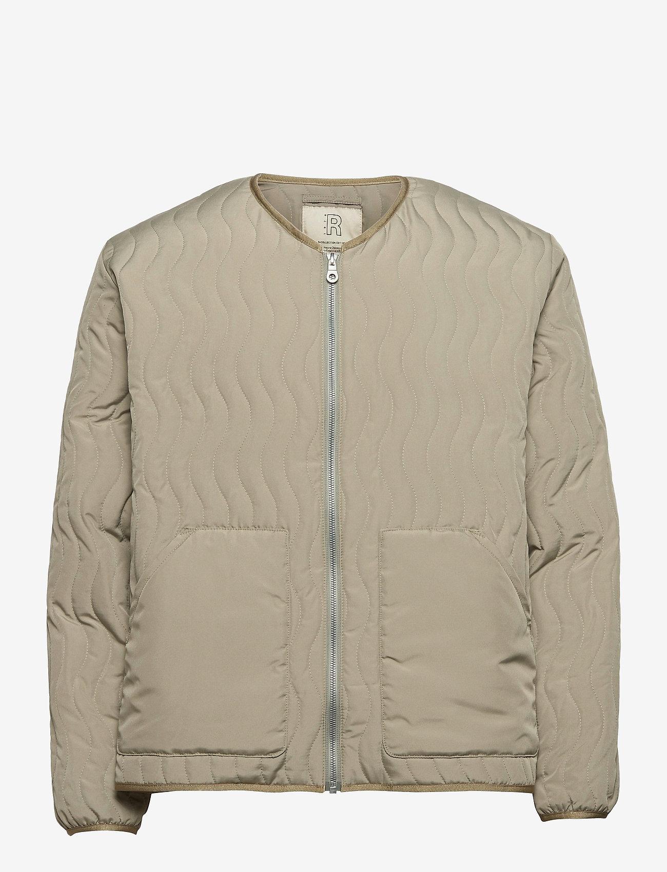 R-Collection - Antton Quilt Jacket - gewatteerd jassen - light moss green - 0