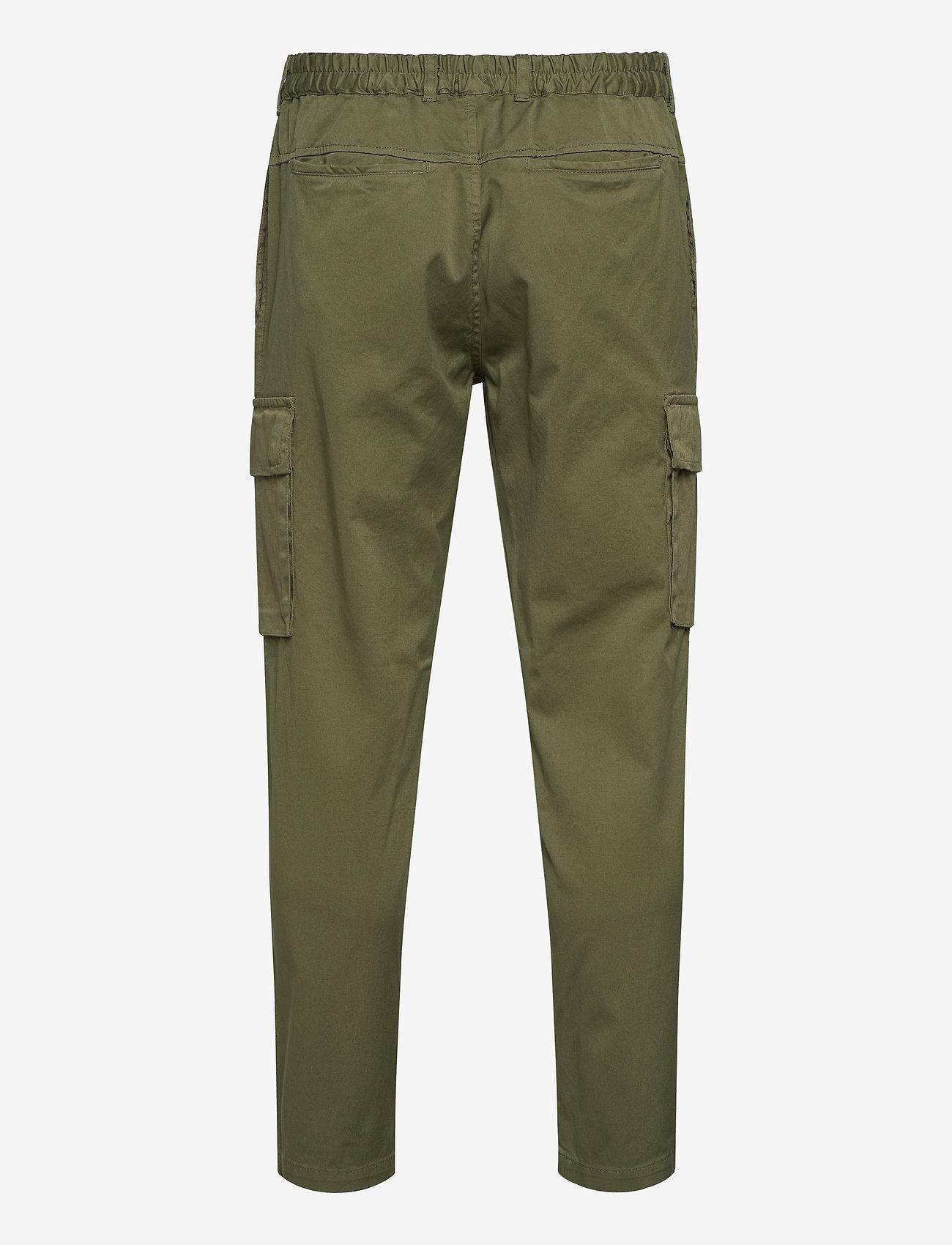R-Collection - Cargo Pants - cargobukser - moss green - 1