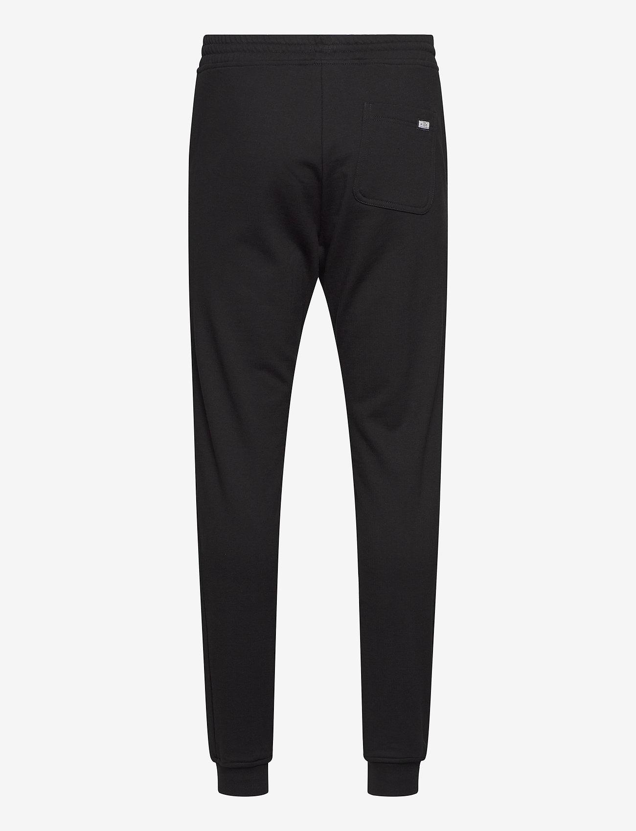 R-Collection Slim Sweatpants - Joggebukser BLACK - Menn Klær