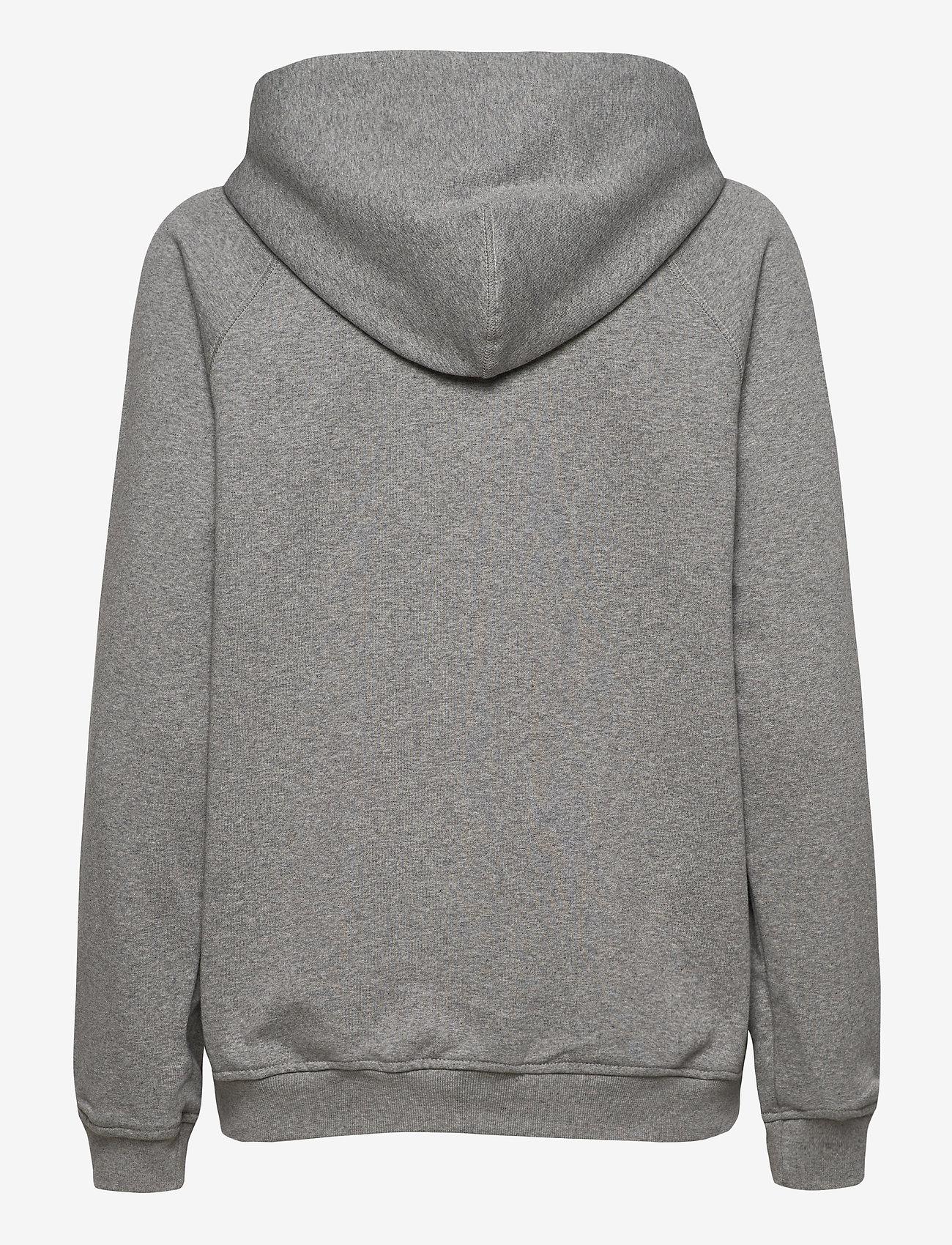 R-Collection - Classic Hoodie - hættetrøjer - light grey melange - 1