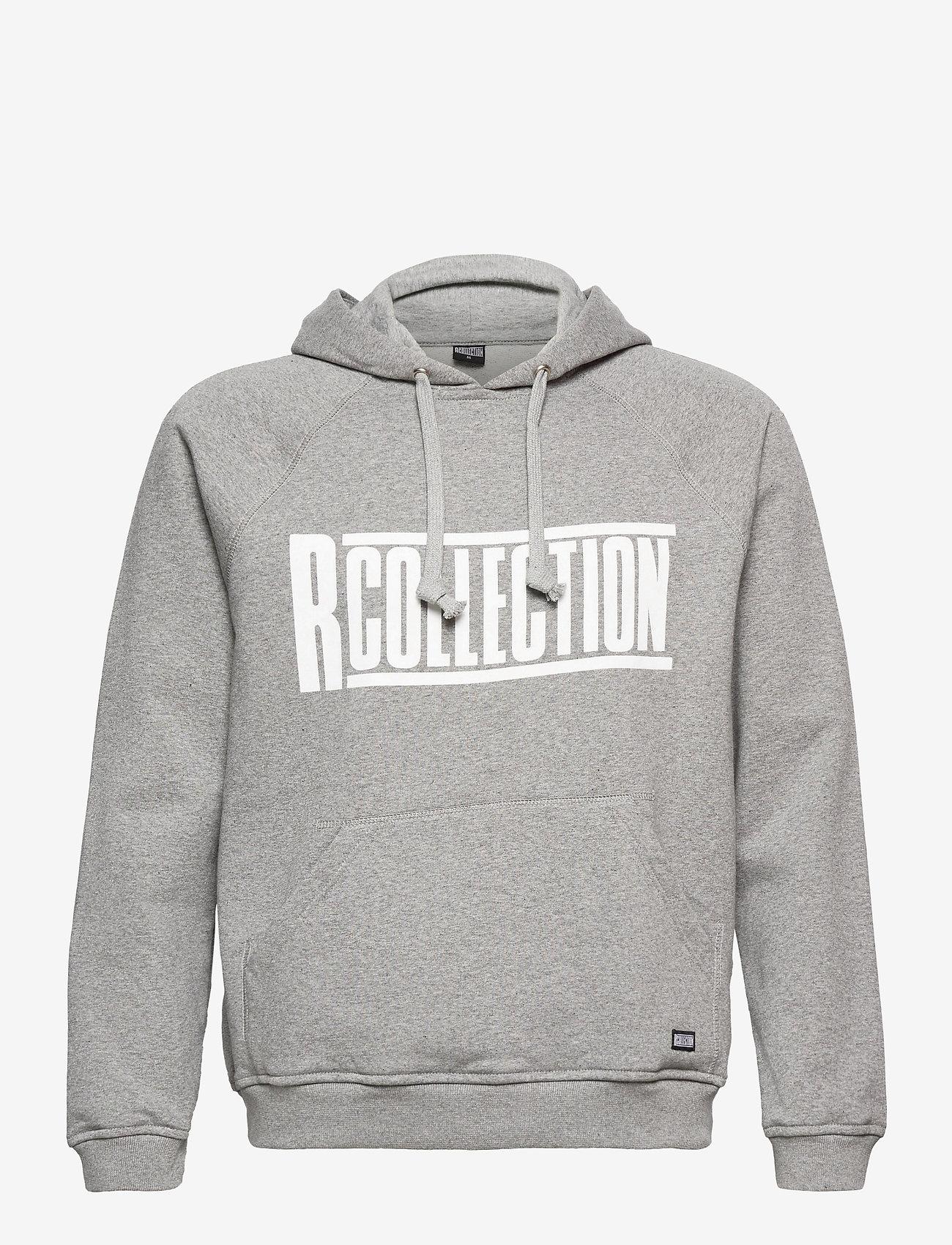 R-Collection - Classic Hoodie - hoodies - light grey melange - 0
