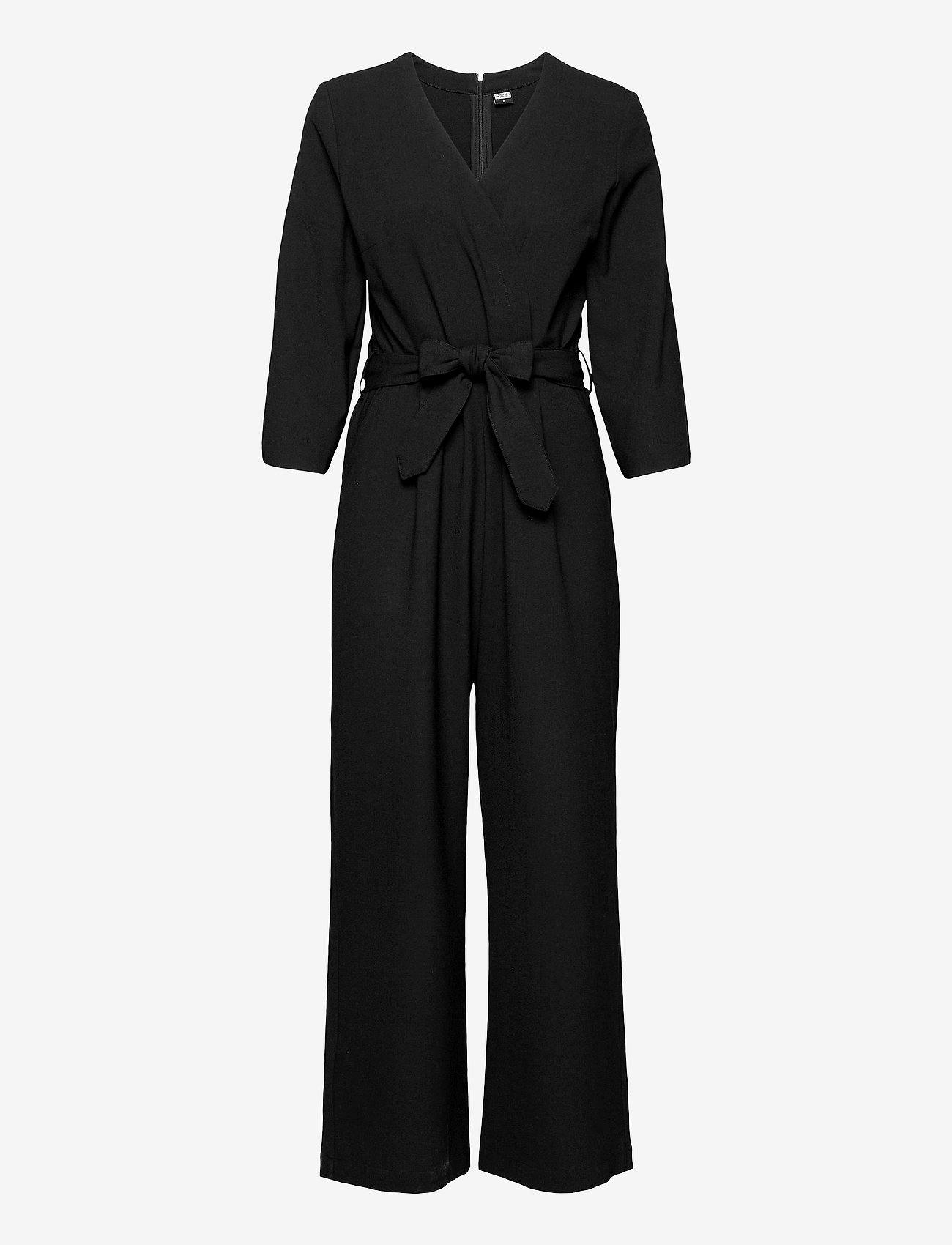 R-Collection - Milja Overalls - jumpsuits - black - 0