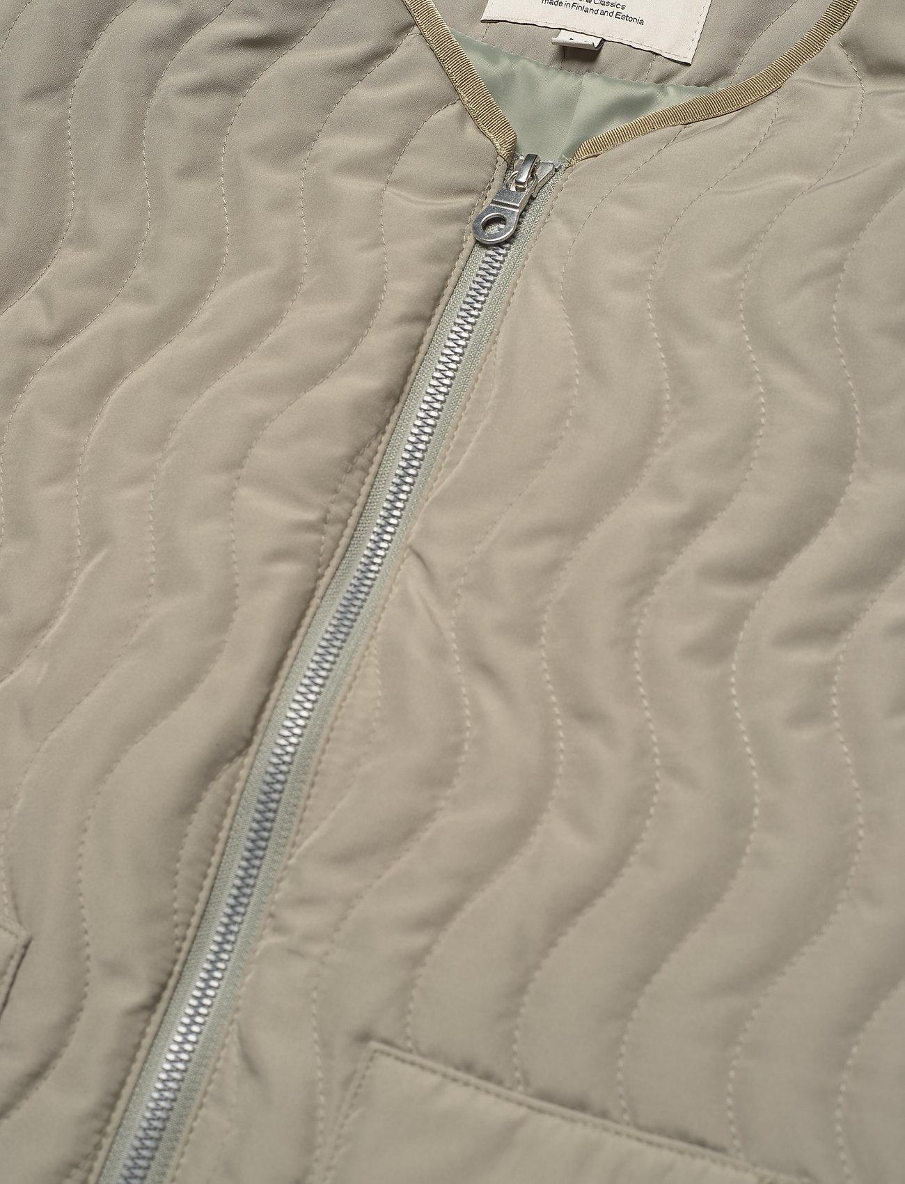 R-Collection - Antton Quilt Vest - gilets sans manches - light moss green - 2