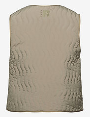 R-Collection - Antton Quilt Vest - kamizelki - light moss green - 1