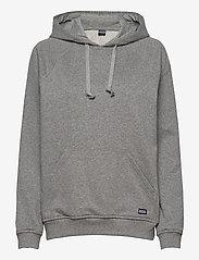 R-Collection - Classic Hoodie - hættetrøjer - light grey melange - 0