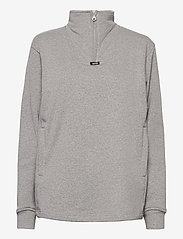 R-Collection - Aatos Sweatshirt - half zip - light grey melange - 1