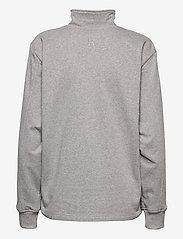 R-Collection - Aatos Sweatshirt - half zip - light grey melange - 2