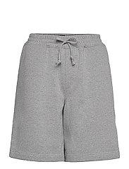Sweat Shorts - LIGHT GREY MELANGE