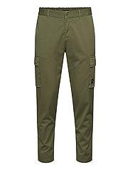 Cargo Pants - MOSS GREEN
