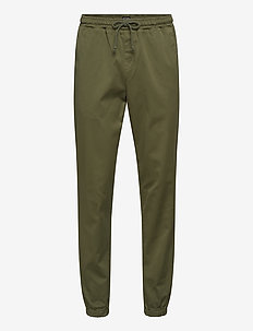 Anorak Pants - joggingbyxor - moss green