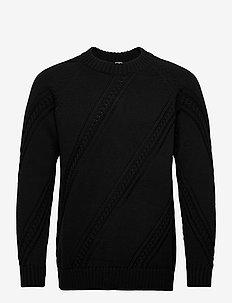 Paljakka Sweater - pulls col rond - black