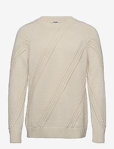 Paljakka Sweater - pulls col rond - cream