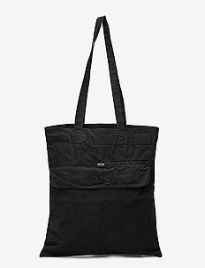 Anorak Bag - sacs en toile - black