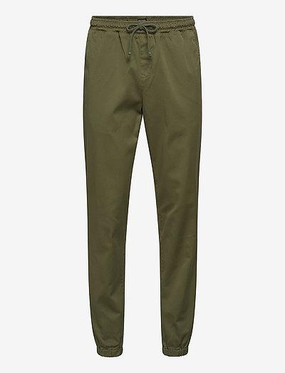 Anorak Pants - casual - moss green