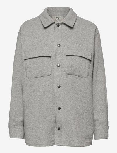 Enni Overshirt - overshirts - marble grey
