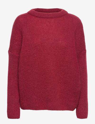 Martta Mohair Jumper - pullover - portwine
