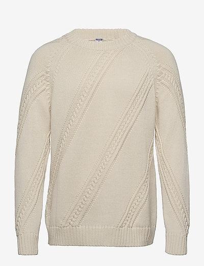 Paljakka Sweater - rundhals - cream