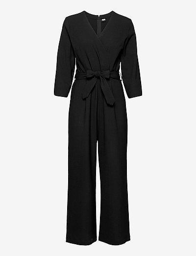 Milja Overalls - jumpsuits - black