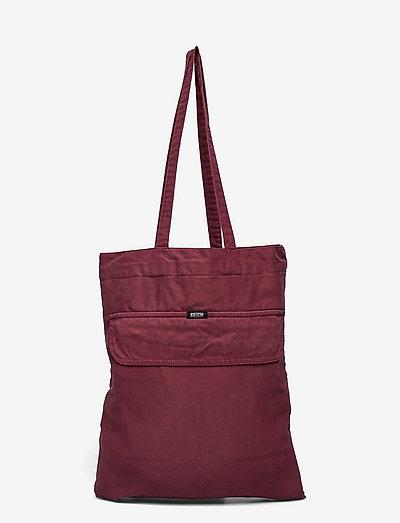 Anorak Bag - tote bags - portwine
