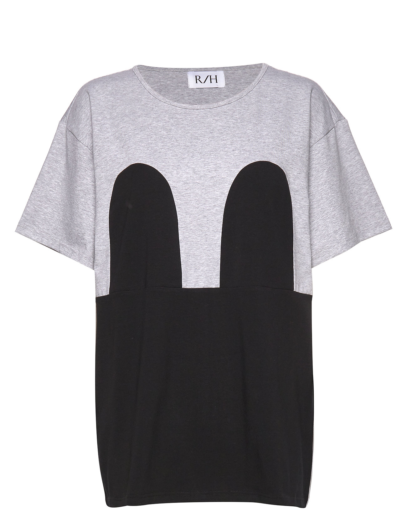 Image of Mickey Loose Tee T-shirt Top Grå R/H Studio (3360910823)