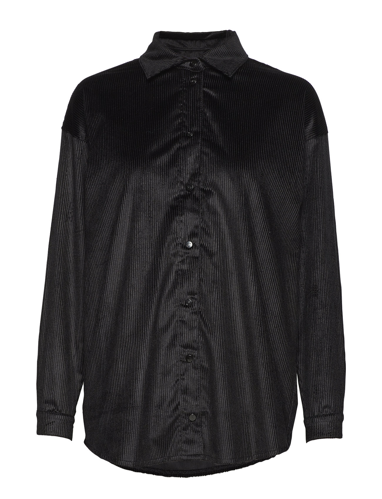 R/H Studio Abi Collar Shirt - BLACK LINE VELVET