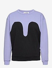 R/H Studio - R/H STUDIO x BOOZT Magic Sweater - sweatshirts & hoodies - lavendel / black - 0