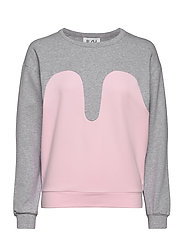 Magic Sweater - LIGHT GREY / BABY PINK