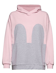 Mickey Hoodie - BABY PINK / LIGHT GREY