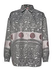 Abi Collar Shirt - KUU JACQUARD