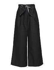Ada Knot Trousers - STONE DENIM