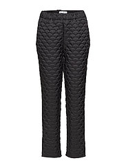 Jazz Trousers - BLACK QUILTED