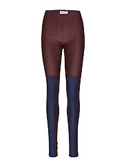 Mickey Leggings - SPACE BLUE / SPARKLING RED