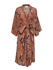 Shangri Dress - PAPER PRINT