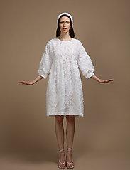 R/H Studio - Donna Dress - sommerkjoler - white - 0