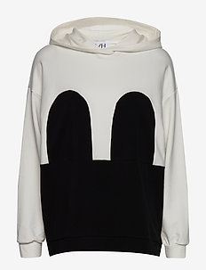 Mickey Hoodie - OFF WHITE/BLACK