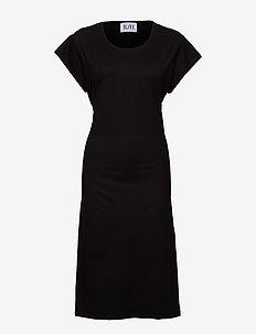 Debbie Tee Dress - BLACK