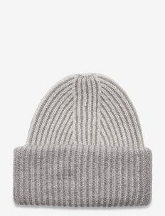 R/H BEANIE - kapelusze - beige/grey