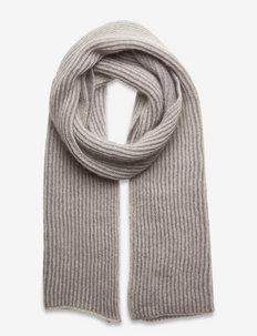 R/H SCARF - szaliki zimowe - beige/grey