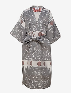 Shangri Dress - kimona - kuu jacquard